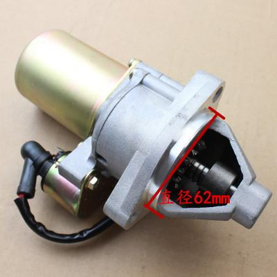 5KW Electric starter motor 12V 14T 0.4KW fits Honda GX340 GX390 engines replacement part# 31210-ZE3-003, 31210-ZE3-013