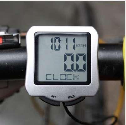 2018 New Waterproof LCD Display Cycling Bike Bicycle Computer Odometer Speedometer with Green Backlight