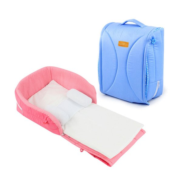 Travel Bed Newborn Out Changing Diapers Multi-function Infant Baby Bed Crib Safe Cot Bags Portable Sleeping Folding Mummy Bags