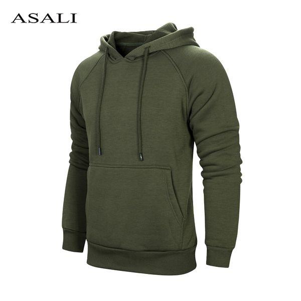 US Size Solid Mens Hooides Sweatshirts Hoodie Men Hip Hop Streetwear Hooded Man's Sportswear Fitness Clothing Top Hoody Male XXL