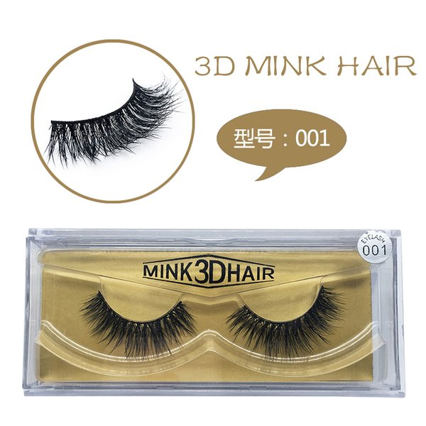 DAMMAN 3D mink hair hand made false eyelash long and thick eyelash 1 pair/box fake lashes extension makeup tool hot sell styles