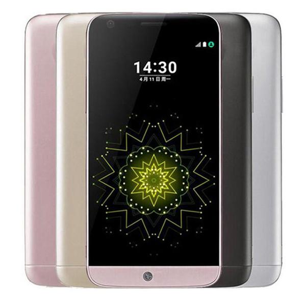 Refurbished Original LG G5 H860N H850 H820 5.3 inch Quad Core 4GB RAM 32GB ROM 16MP LTE 4G Unlocked Smart Mobile Cell Phone DHL 10pcs