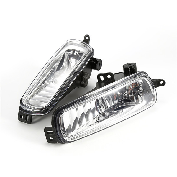 1 Pair / 2PCs Car headlight Left and Right Fog Diving Lamps for 2015 2016 2017 Ford Focus Diving Lights Replacement Bright Lamps