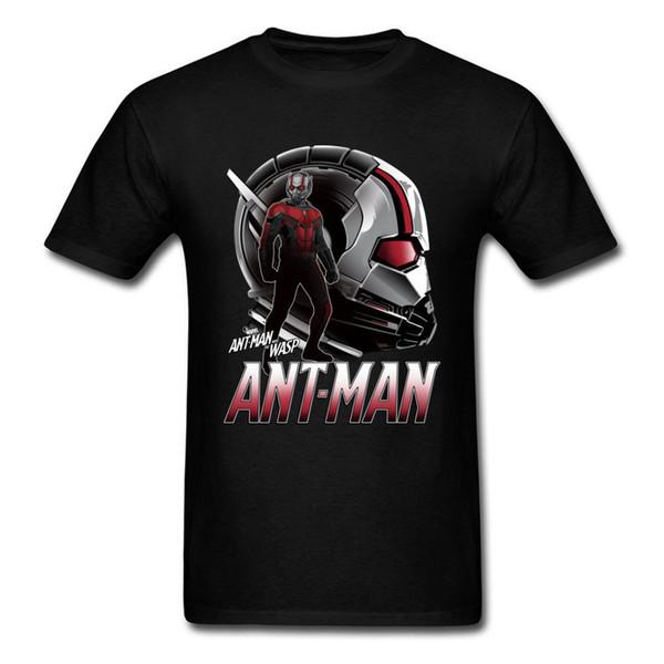 YENİ Karınca Adam Ve Wasp Film Erkekler Gömlek Marvel Comic Erkek T Shirt% 100 Pamuk Üst Baskılı T Gömlek Kısa Kollu Hipster Tee