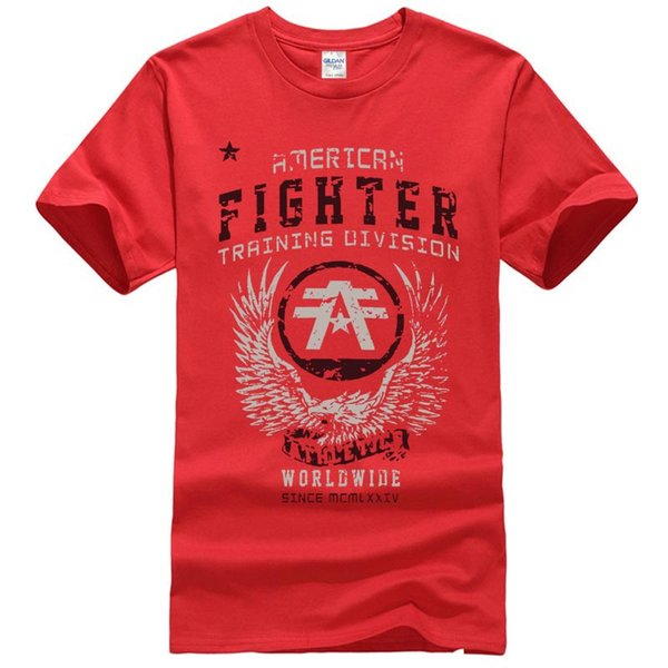 Camiseta sin camiseta popular para hombre de American Fighter