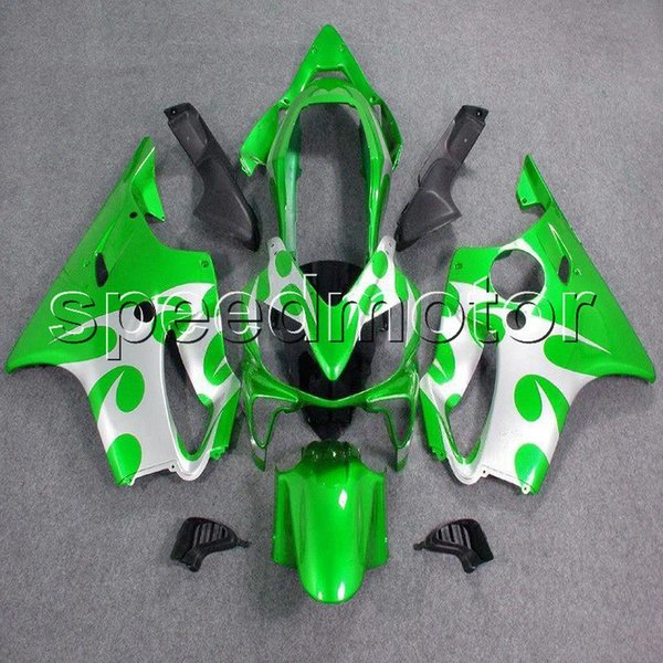colors+Gifts Injection mold green silver CBR600 F4i 04-07 motorcycle cowl Fairing for HONDA 2004 2005 2006 2007 CBR600F4i ABS plastic kit