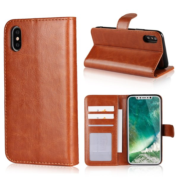 2 in 1 PU Leather Wallet Flip Detachable Case Removable Holster Cover Fashion Luxury Magnetic Phone Cover with Card Holder Stand for Apple