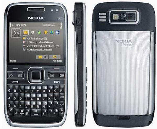 Original Nokia E72 Mobile Phone Unlocked 3G WIFI GPS 5MP Camera cellphone Russian keyboard and language hot sale Refurbished
