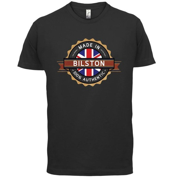 Made In BILSTON T-Shirt Homem - Cidade - 13 Cores