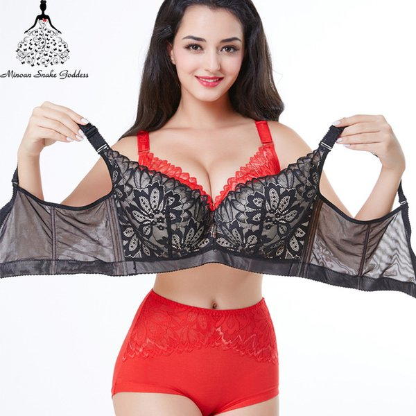 42b31b8a3829 Lace Push Up Bra For Women Plus Size Bra Lace Women Underwear Lingerie Larg Size  Brassiere