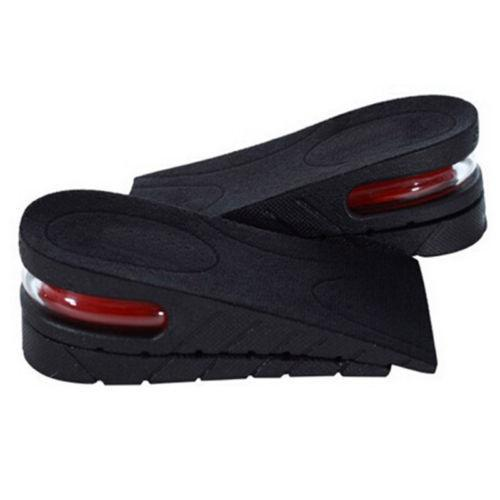 Adjustable 5 cm 2 Layer Up Air Cushion Heel Insert Increase Height Lift Men Shoe Insole height increase Shoe Pad