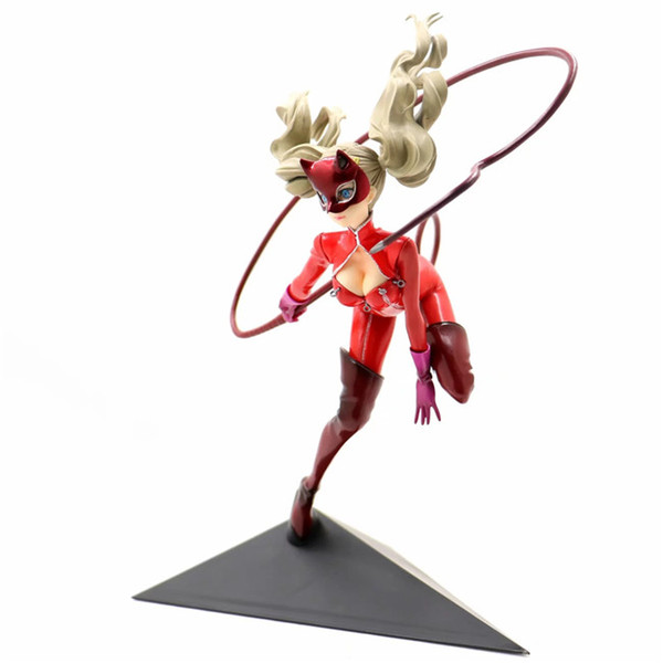 Persona 5 Christmas Gifts.2019 Demishop 25cm Anne Takamaki Figure Anime Persona 5 Panther Ren Amamiya Pvc Action Figure Doll Toy For Christmas Gift From Demishop 39 56