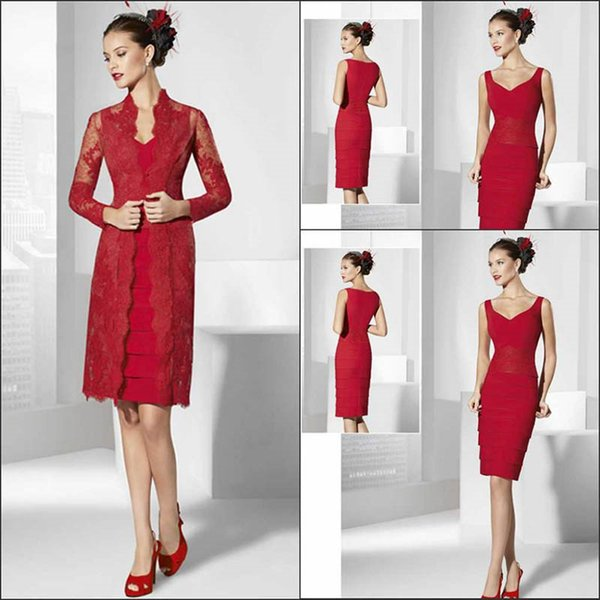 custom made! New high-end lace fabric ladies slim red dress company annual banquet party elegant noble dress