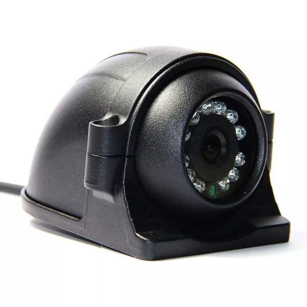 Free Shipping 12-24V 4 Pin Metal IR Night Vision IP67 Car Rear / Side / Front View Reverse Backup Duty Camera for Bus Truck Van