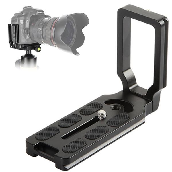 PU-105 L Em Forma de 105 cm L-placa 1/4 Parafuso Quick Release Plate Para Canon 5D 7D 60D 600D 1100D Nikon 550D 450D Câmeras DSLR