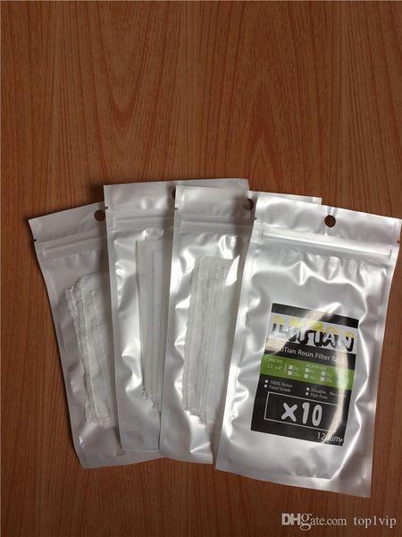 best selling 25 90 120 160 Micron 1.25x3.25 inch Rosin Press Filter Screen Mesh Tea Bags - 10 sheets