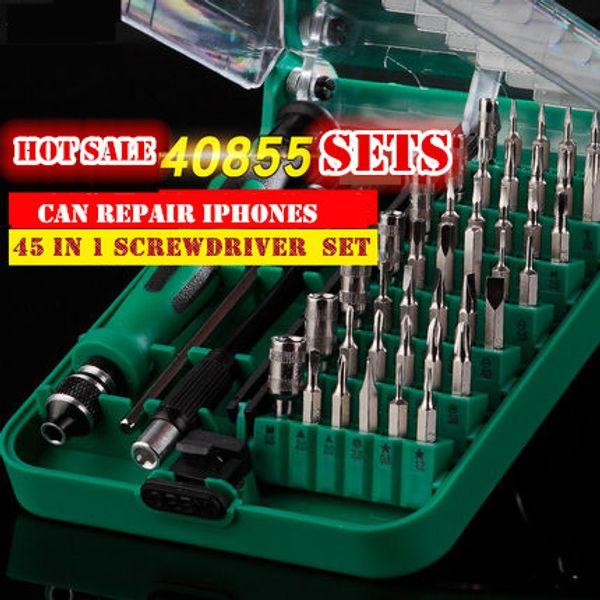 Cell Phone Reparing tools 31-61 in 1 Tool Kit Multifunctional Magnetic Screwdriver,for household and computer repair tool set