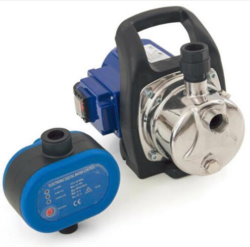 New Hot Selling 1200W 3500L/H Stainless Steel Water Pump with Pressure Switch Black AND Blue
