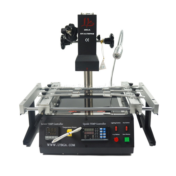 LY IR6500 V.2 infrared bga rework station, laptop motherboard bga repair machine,with pcb jig