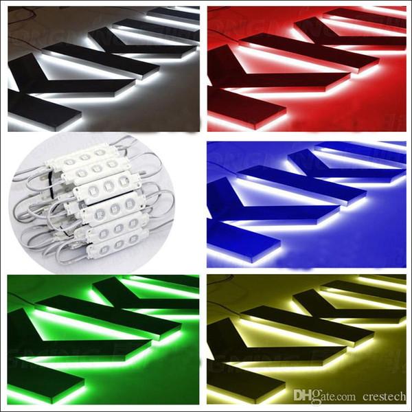 RGB Einfarbiges DC12V Konstantspannungsleitungsmodul SMD5050 LED-Chipinjektionsleitungsmodul Austauschmodul für Linsenkabel