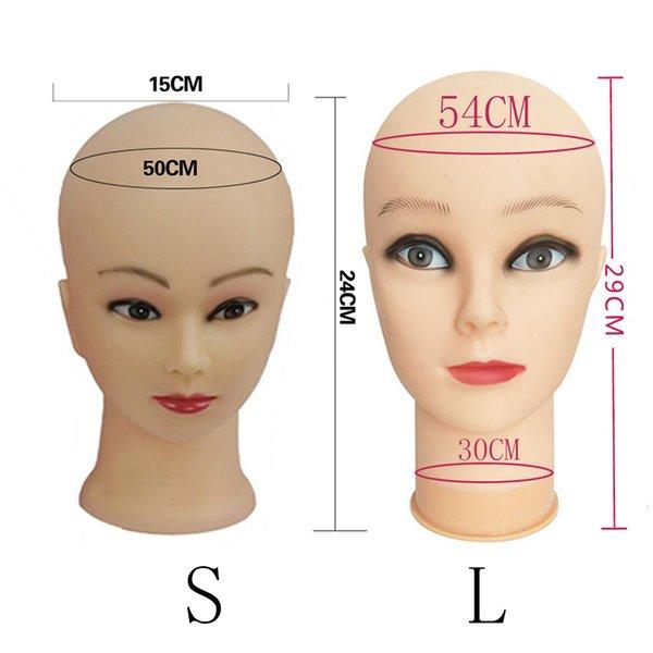 Formación profesional Maniquí Cabeza para la práctica de maquillaje de alta calidad y maniquies agradables mujeres maniquí cabeza envío gratis