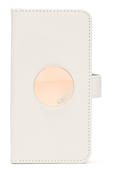 MIMCO WAVER FLIP CASE FOR IPHONE 6/6S/7/8---White