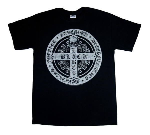 Black Label Society Pendant T Shirt New M-L-Xl-2Xl Tee Shirt For Men Design Custom Short Sleeve Valentine's XXXL Couple T Shirts