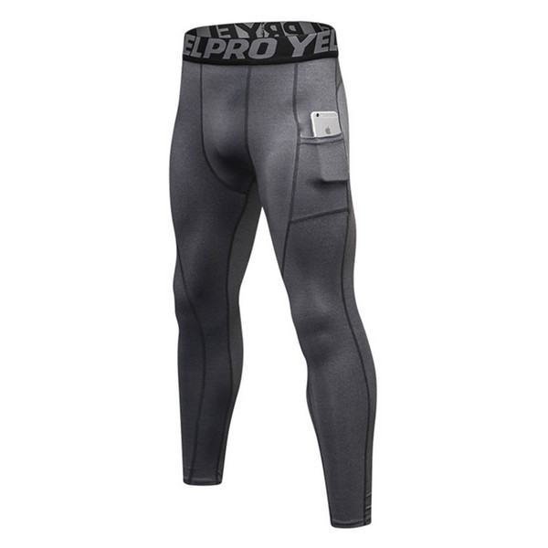 Stretch Compression Pants Men Tight Long Sport Trousers Fitness Gym Athletic Patchwork Color Man Sweat Running Leggings Sexy