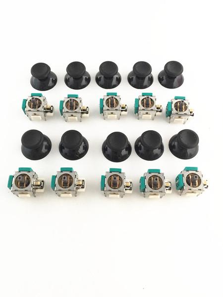 10 Sets 3D Analog Joystick Sensor Module Potentiometer with Thumb Sticks Analog caps for Xbox 360 Controller Repairn Parts