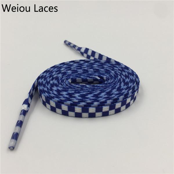 # 713 Plaid Blanco-Azul 160cm