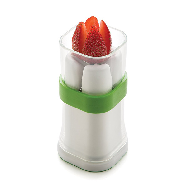 Best New Magic NEW The QuarterCutter Quarter International Small Veggie Cutter ideal for carrots, zucchini, cucumbers, mushrooms strawberry