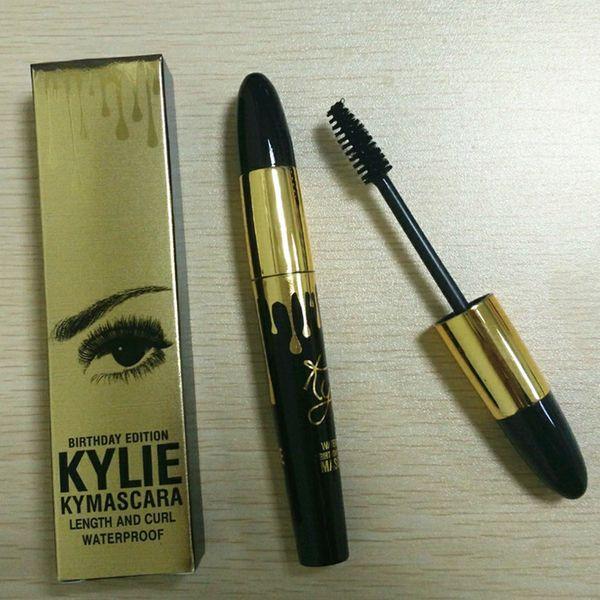b7bd3936d97 Kylie Jenner Mascara Magic Thick Slim Waterproof Mascara Black Eye Mascara  Long Eyelash Charming Gold Birthday