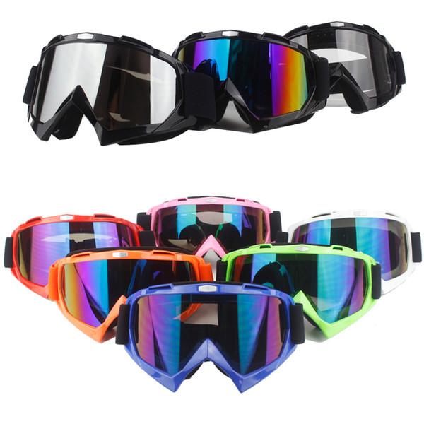 Motorcycle Protective Gears Flexible Cross Helmet Face Mask Motocross Goggles ATV Dirt Bike UTV Eyewear Gear Glasses