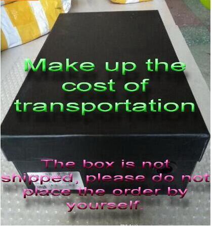 коробка ботинок коробку можно снабдить бесплатно клиенты, но она будет стоить $5 д