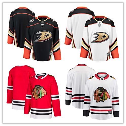 huge discount b4869 b03ea 2019 2018 NHL Anaheim Ducks/Chicago Blackhawks Fans Edition Home/Away  HOCKEY Jerseys Men'S T Shirt Customized Item M L XL XXL From  Sportjersey2018, ...