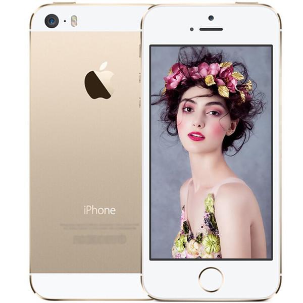Refurbi hed original apple iphone e 4 0 inch creen cellphone dual core ram 2g rom 16g 64g 12mp camera io 9
