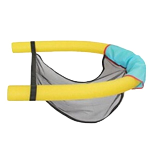 1PCS Polyester Floating Pool Noodle Sling Mesh Chair Net For Swimming Pool Party Kids Bed Seat Water Relaxation