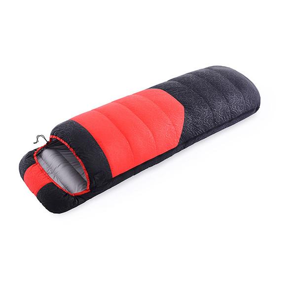 Tek Ultralight Ördek Aşağı Uyku Tulumu Kamp Sıcak Tutmak Taşınabilir Açık Uyku Tulumu Su Geçirmez Seyahat AA52045