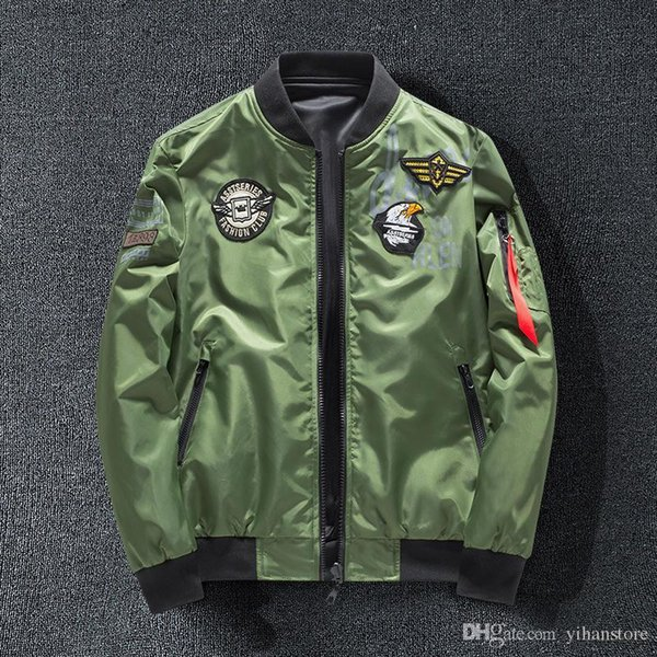 MA1 Men Winter Warm Military Airborne Flight Tactical Bomber Jacket Army Air Force Fly Pilot Jacket Aviator Motorcycle Down Coat 8806