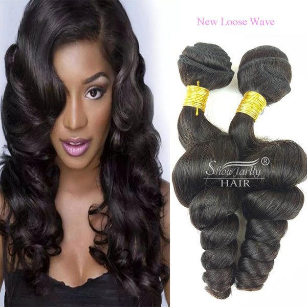 Brazilian funmi and New Loose Wave single Bundles Spiral Curl Hair Bundles Short Curly Weave 8A Unprocessed Brazilian Human Hair Extensions