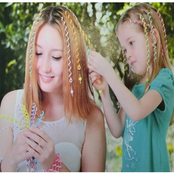 High Elastic Spiral Color Hair Wand Durable For Children Kids Hairs Editor Resuable Eco Friend Magic Tricks 0 98mz BB
