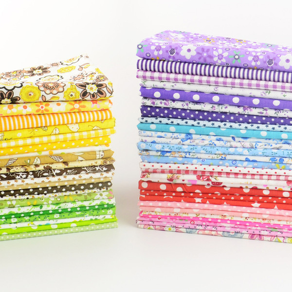 top popular Booksew cotton fabric Free shipping 50 pieces lot 20cmx25cm charm pack patchwork bundle fabrics tilda cloth sewing DIY tecido 2021