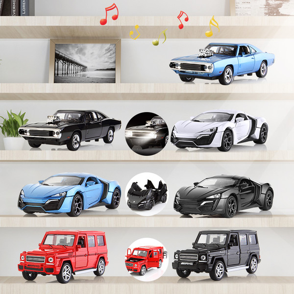 1:32 pull back Alloy Cars die-cast vehicle car collection & toy Car W/Light& Music Open The Doors car toys