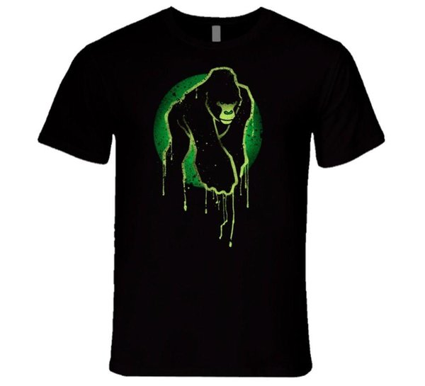 Affe Kunst phosphorescent cool T Shirt Normal