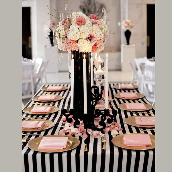Hot sale 10 pcs Free Shipping 140cm x250cm Rectangle Shiny Satin Popular Table Overlay Table Cloth
