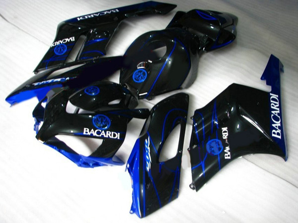 Hat sale Fairings for Honda CBR1000RR 2004 2005 blue black Injection mold fairing kit CBR 1000 RR 04 05 HF32