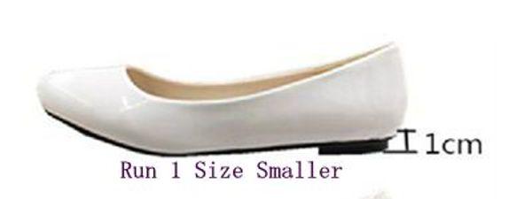 White Flat Heel