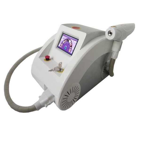Alta calidad 2000MJ pantalla táctil 1000 w Q conmutada nd yag láser máquina de la belleza eliminación del tatuaje cicatriz del acné eliminación