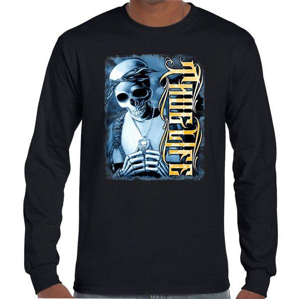 Pac 74 Thug Von T Auf Großhandel 2 2pac Schädel Life Rap comDhgate Rapper Smalls Banwanyue215 De Shirt dhgate Tupac Shakur Biggie Männer AL354Rj