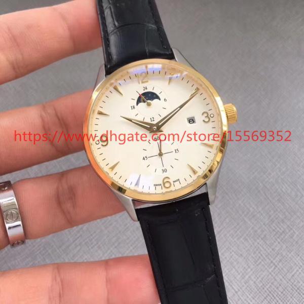 Uhr des Luxus-Modeimports des Retro- Retro- achtundvierzigjährigen Mannes des Luxus-Mode-Importes Multifunktions automatische mechanische wasserdichte Uhr des Kalenders